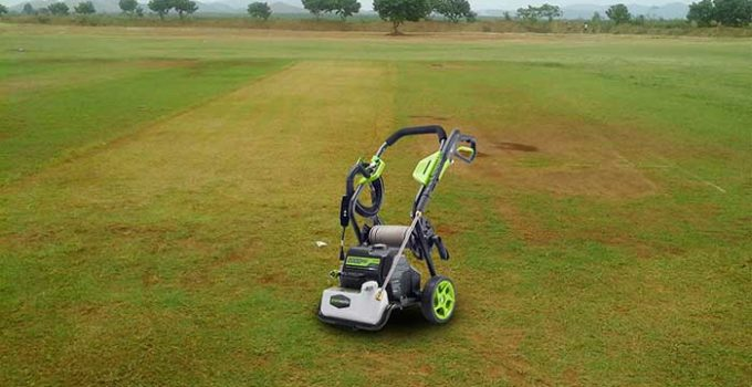 GREENWORKS 2000 psi PRESSURE WASHER REVIEWS-2018 | Cleaning