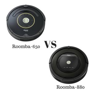 Roomba-650 vs 880