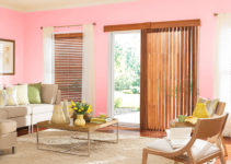 Wooden Vertical Blind