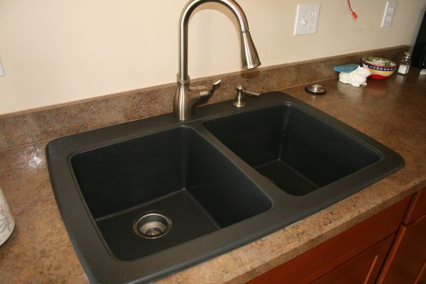 How To Clean A Black Granite Composite Sink Carefully